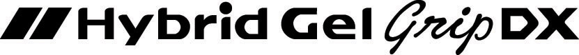 1.0mm Hybrid Gel Grip DX Broad Metallic