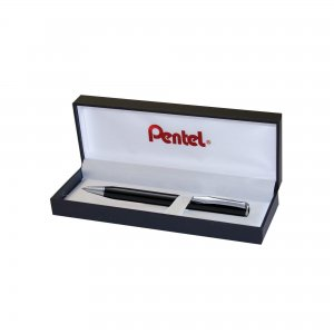 Pentel Sterling Excel Ballpoint Pen in a hinged gift box B811