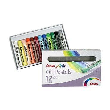 Pentel Oil Pastels Set PHN