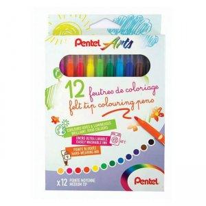 Pentel Felt Tip Colouring Pens SCS