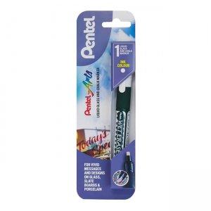 Pentel Liquid Glass & Chalk Marker standard tip single pack XSMW26-W