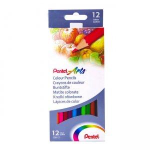Pentel Colour Pencils - Sets of 12 or 24 CB8